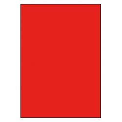 210 x 296 mm 100 feuilles ROUGE