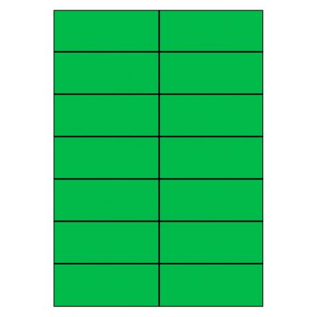 105 x 42 mm 100 vel p.doos GROEN