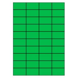 52 x 30 mm 100 vel p.doos GROEN