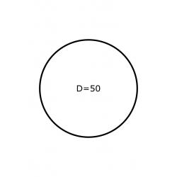 Rol etiketten 50 mm GLANS 2.500 per rol