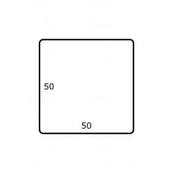 50 x 50 mm 2.500 per rol Polyjet Glans