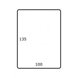 100 x 135 mm 1.000 per rol Polyjet Mat