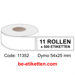11352 Dymo Labels 54x25 mm