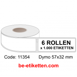 11354 Dymo Labels 57x32 mm