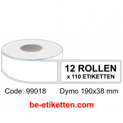99018 Dymo Labels 190x38 mm